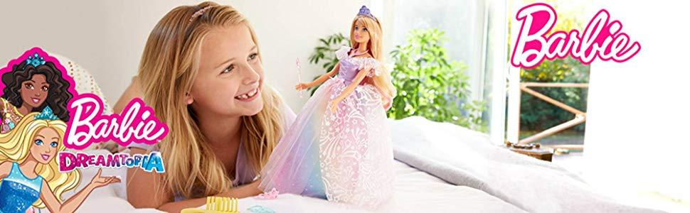 Have a Royal Time with Barbie Dreamtopia Princess Doll!
