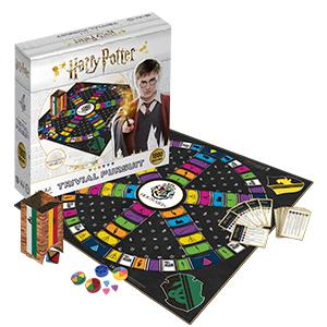 harry potter, trivial pursuit, board game, trivia, game, gaming, family game, travel game