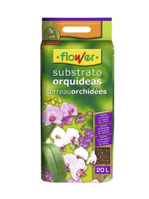 Flower 80017 Substrato Orquídeas 5L, Marrón, 24x4.5x39 cm: Amazon ...