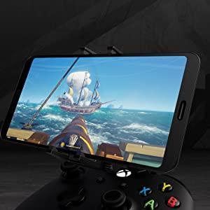 Soporte para móvil, soporte para teléfono, jugar con móvil, xCloud, retransmisión del juego de Xbox