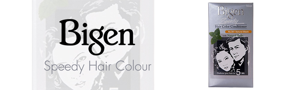 Buy Bigen Speedy Hair Color Natural Black 881 Online At Low Prices