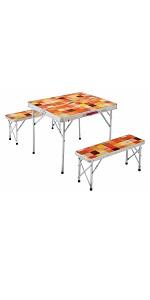コールマン(Coleman) テーブル ナチュラルモザイクファミリーリビングセット ミニプラス 2000026758