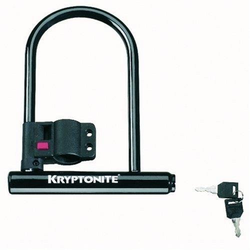 kryptonite keeper 12 standard bicycle u lock with bracket 4 inch x 8 inch bike. Black Bedroom Furniture Sets. Home Design Ideas