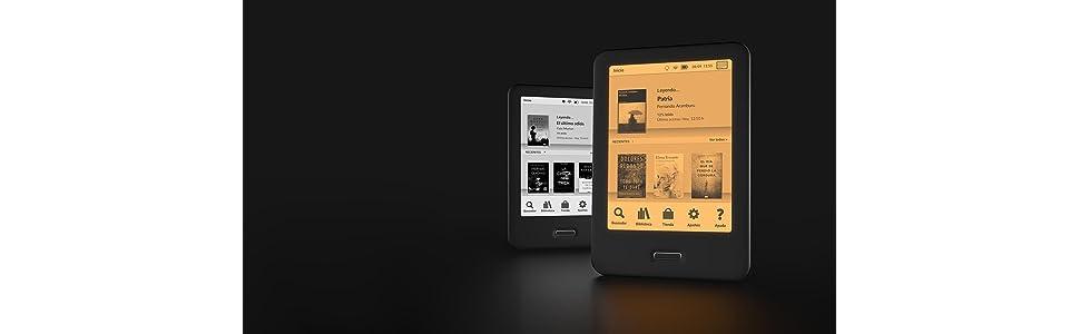 """BQ Cervantes 4 - Lector de Libros electrónicos de 6"""" (WiFi"""