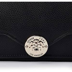 Guess Crossbody Bag For Women, Black - VG774421