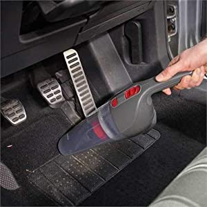 Black+Decker 12V DC Auto Vac/Car Vacuum Cleaner with 2 Stage Filteration, NV1210AV-B5