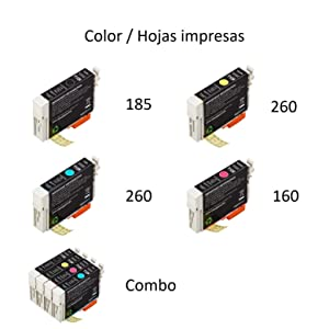 AmazonBasics - Cartucho de tinta regenerado, Epson Apple T128 ...