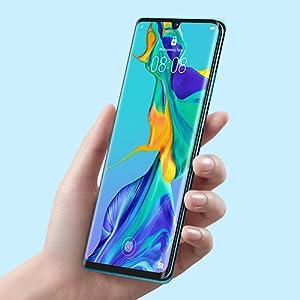 Huawei P30 Dual Sim - 128 GB, 8 GB Ram, 4G LTE, Breathing Crystal