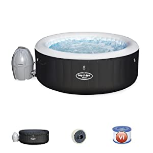 Bestway  Spa gonflable bain /à remous Lay-Z-Miami AirJet 180 x 180 x 66 cm max 669L