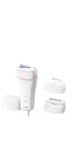 パナソニック 光美容器 光エステ ボディ&フェイス用 コンパクトタイプ ピンク調 ES-WH76-P
