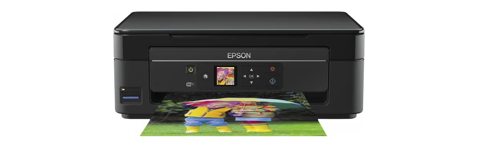 Epson Expression Home XP-342 - Impresora inyección de tinta multifunción (WiFi, 1200 x 2400 DPI, LCD de 3.7 cm), color negro, Ya disponible en Amazon ...