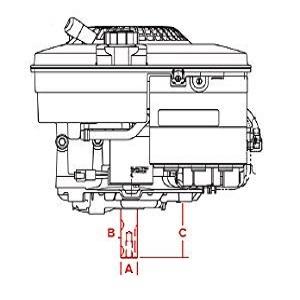 horizontal crankshaft engines