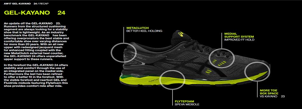 sports shoes 29365 0453f ASICS Men's Gel-Kayano 24 Running Shoes
