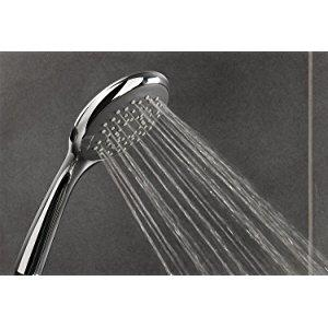 Triton Finish 5 Mode Shower Head.Triton Replacement High Flow Showerhead Chrome 5 Spray Handset