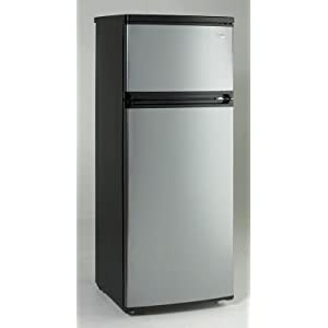 Amazon.com: Avanti RA7316PST 2-Door Apartment Size Refrigerator ...