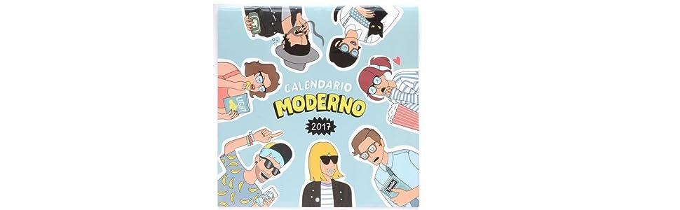 Grupo Erik Editores Moderna De Pueblo - Calendario 2017, 30 ...