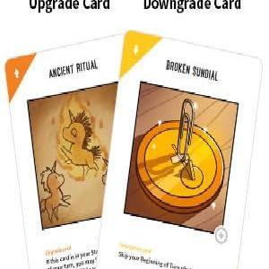 upgrade downgrade cards