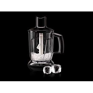 Braun Hogar MQ40 Black MultiQuick - Batidora de Jarra / Trituradora de Hielo, Accesorio de Batidora de Mano, Acero Inoxidable, Plástico, color Negro: Amazon.es: Hogar