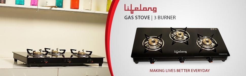 d913e0312 Buy Lifelong Glass Top Gas Stove