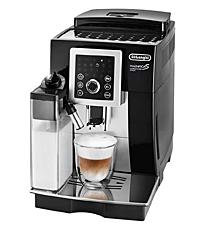 デロンギ コンパクト全自動コーヒーマシン マグニフィカ S カプチーノ スマート ブラック ECAM23260SBN