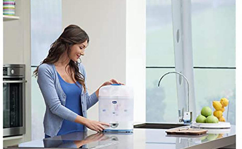 جهاز ستيريناتشورال 2 في 1 من تشيكو، شفاف