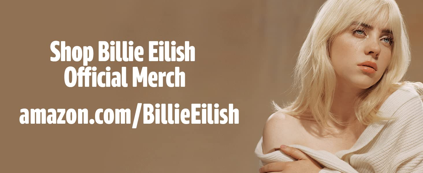 Shop Official Billie Eilish Merch at Amazon.com/billieeilish