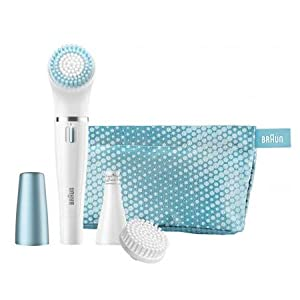 Braun Face SE832E Color Facial Cleansing Brush & Facial Epilator Limited Edition
