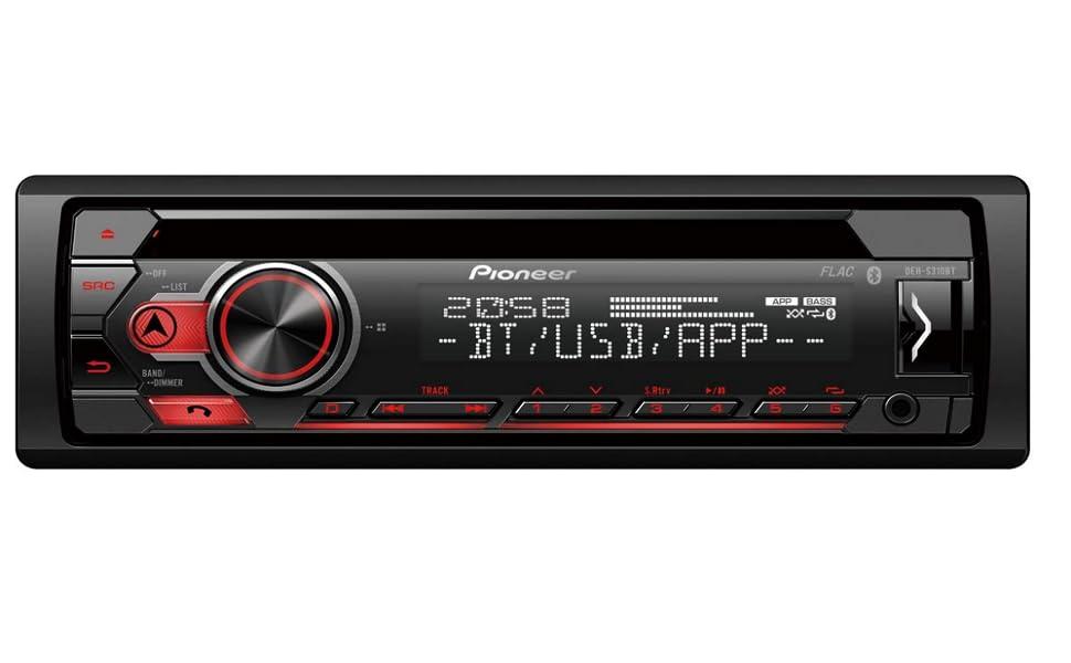 Pioneer Deh S310bt 1din Autoradio Cd Tuner Mit Rds Elektronik