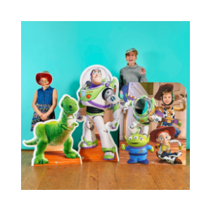 more toy story cardboard cutouts and masks