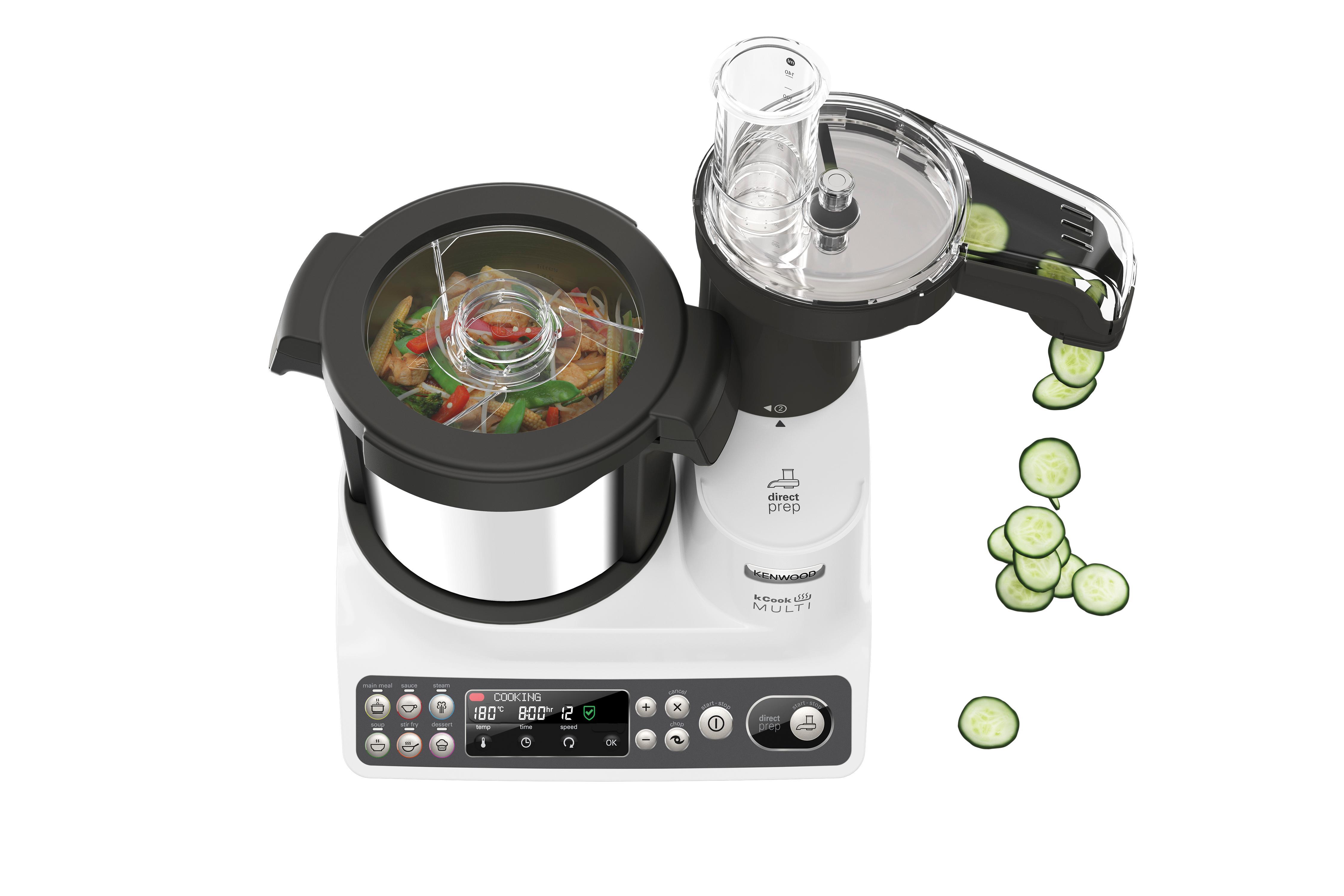 Kenwood ccl401wh kcook multi robot da cucina con - Robot da cucina con cottura ...