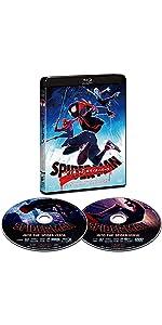 スパイダーマン:スパイダーバース ブルーレイ&DVDセット通常版 [Blu-ray]