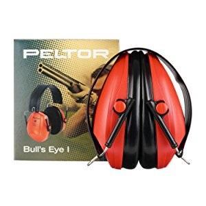 3M PELTOR Bulls Eye I H515FB-516-SV Orejeras pasivas plegables negras especiales para caza y tiro 27 dB (1 orejera/caja)