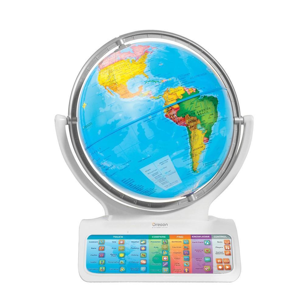 Oregon scientific sg338c globo terr queo interactivo juguetes y juegos - Globo terraqueo amazon ...