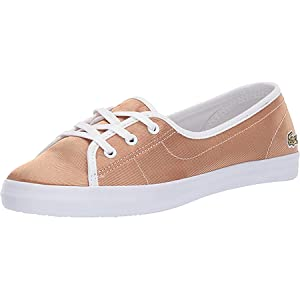 lacoste ZIANE CHUNKY 11 Womens Oxford Shoes, 6.5 UK (40 EU) - Gold/White