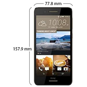 HTC Desire 728 Ultra Dual SIM Cappuccino Brown