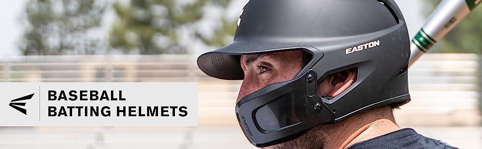 Helm Des Batter Weicher Ball Baseball Helm Doppel Klappe Schwarz E8L2