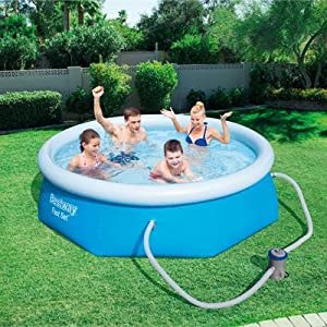 Bestway 57268 - Piscina Desmontable Autoportante Fast Set 244x66 ...