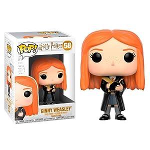 Funko 29504 Harry Potter 29504 Weasley Ginny with Diary Pop Vinyl Figure, Multi