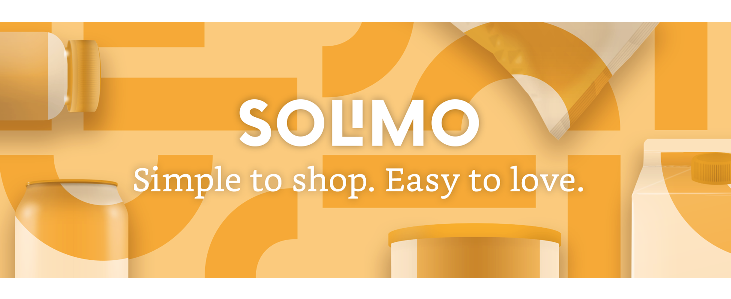 Solimo; Simple to Shop, Easy to Love