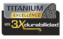 Sartenes Tefal Ingenio Expertise Titanium Excellence: hasta tres veces más duradero