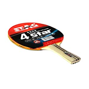 00790ca9be8 Buy Stag 4 Star Table Tennis Racquet (Multicolor) Online at Low ...