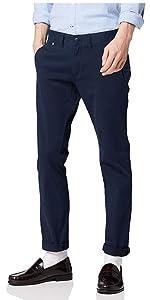 Tommy Jeans Hombre Original Slim Fit Chino Pantalones