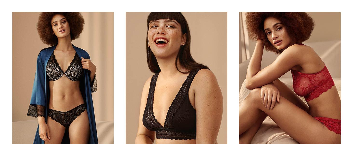 Marca Amazon - IRIS & LILLY Bañador Moldeador Mujer