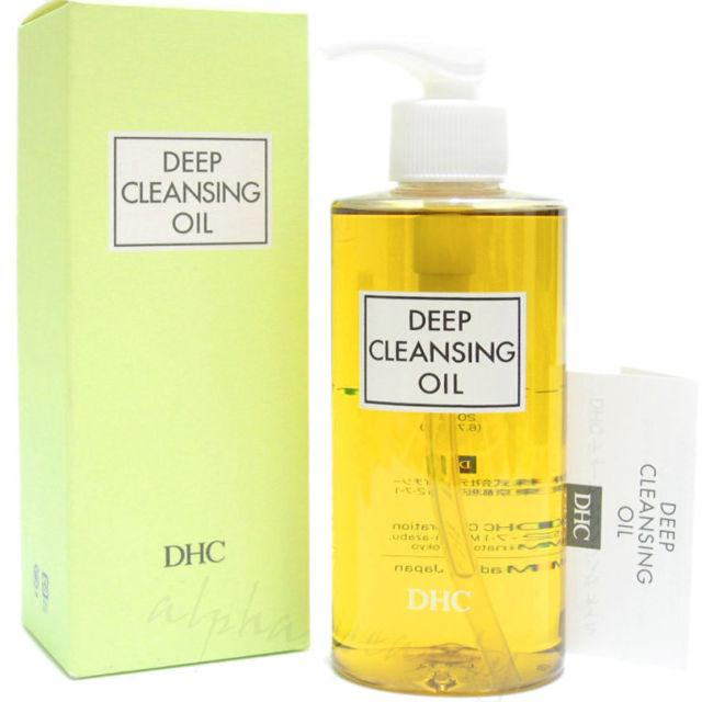 Deep cleansing olive oil facial