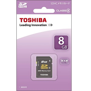 TOSHIBA SDHCカード