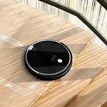 ILIFE A6 Robot aspirador con la succión fuerte, robot de limpieza para suelos, para delgada alfombras, negro: Amazon.es: Hogar