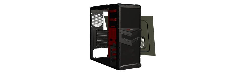 Mars Gaming MC4 - Caja de ordenador para gaming