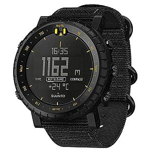 スント(SUUNTO) 腕時計 コア ブラックレッド 3気圧防水 方位/高度/気圧/水深 SS023158000 [日本正規品 メーカー保証2年]