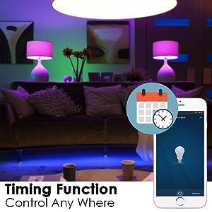 Halonix Prime Prizm Smart Rectangle Base LED Bulb