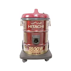 Hitachi CV945Y24CBSWR 18 Liter Corded Canister Vacuum Cleaner